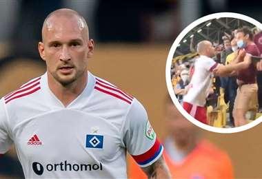 El jugador reconoció que no reaccionó bien. Foto: Goal.com