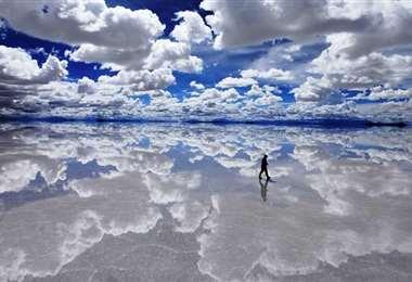 El destino turístico de Uyuni conquista a los visitantes