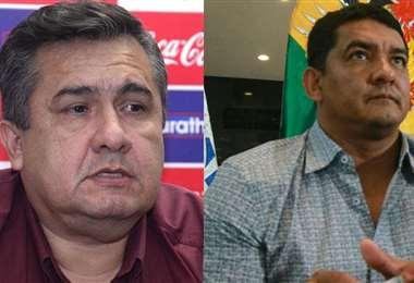 Blanco y Rodríguez siguen en la pugna por la presidencia de la FBF. Foto: Archivo
