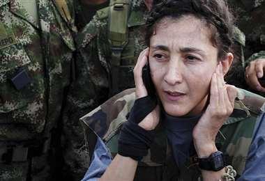 Betancourt estuvo seis años secuestrada por la guerrilla. Foto Internet