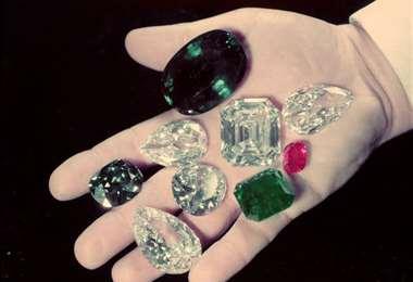 Piedras preciosas. Foto Internet