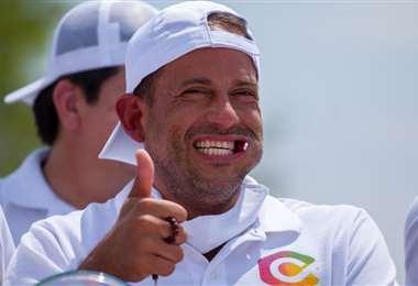 Luis Fernando Camacho, candidato por Creemos. Foto: Roger Barba