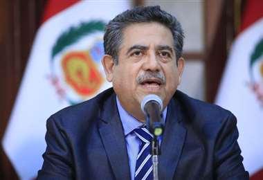 Merino es el presidente del Congreso de Perú. Foto Internet