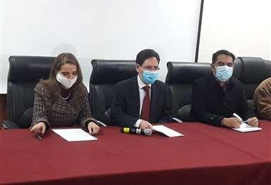 La conferencia de prensa del TSE (Foto: Miguel Melendres)