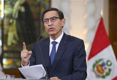 El mandatario peruano anunció las nuevas medidas. Foto Internet