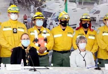 Bomberos Municipales refuerzan la labor contra incendios forestales