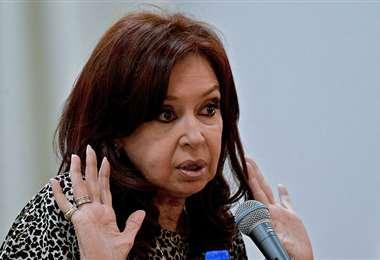 La actual vicepresidente de Argentina. Foto Internet