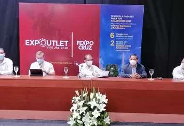 La Expo Outlet comenzará el 23 de septiembre. Fotos:  Hernán Vigo