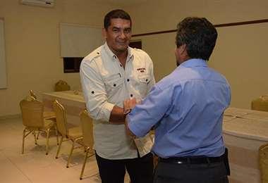 Marco Rodríguez, dirigente de la FBF. Foto: internet