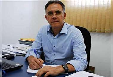 De Oliveira, presidente de Nacional Atlético Clube. Foto: Internet