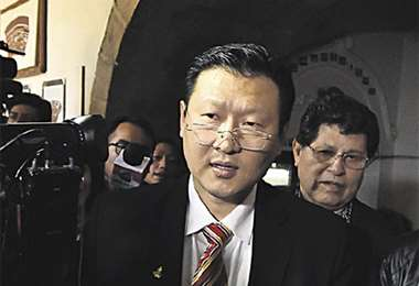 El candidato Chi Hyun Chung