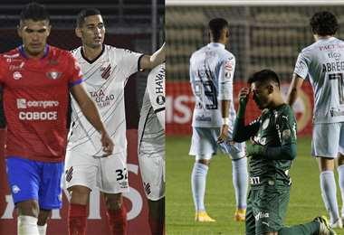 Wistermann y Bolívar perdieron en el retorno de la Copa. Foto: AFP