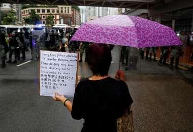Activista denuncia acoso político en Hong Kong