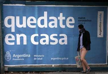 Un cartel en una calle de Buenos Aires. Foto Internet