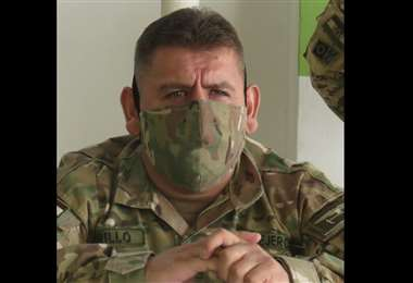 Gonzalo Murillo, comandante de la IV División de Ejército