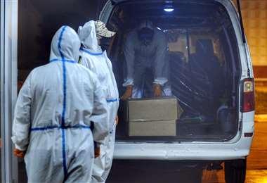 El total acumulado de fallecidos es 7.511 (Foto: AFP)