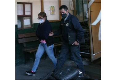 La aprehensión de Patricia S.M. se realizó el 16 de septiembre. Foto:  Apg Noticias