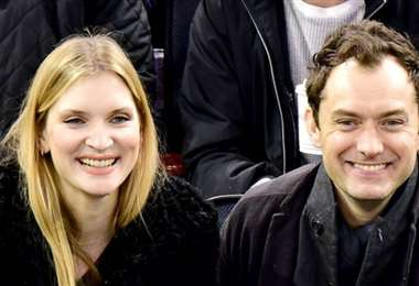 Philippa Coan y el actor Jude Law, han tenido su primer hijo como pareja