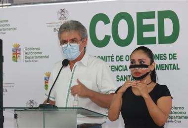 Luis Alpire, secretario de Desarrollo Productivo de la Gobernación. Foto. Gobernación
