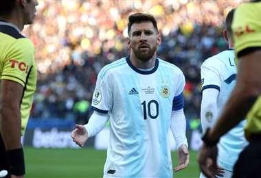 Messi es el más esperado para el partido ante Bolivia. Foto: Internet