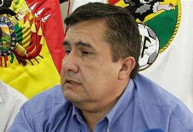 Blanco se considera el único presidente legal de la FBF. Foto: EL DEBER