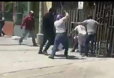 Violencia en Cochabamba