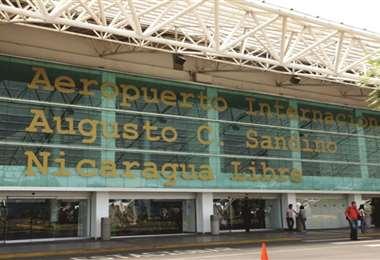 El aeropuerto internacional de Managua. Foto Internet