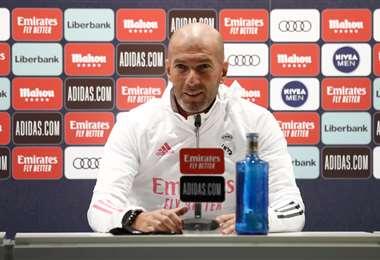 Zinedine Zidane, DT del Real Madrid. Foto: @realmadrid