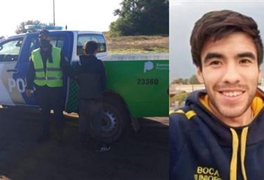 Astudillo cayó en manos de la Policía en algunos retenes durante su viaje. Foto. Internet