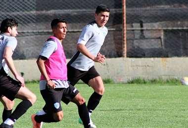 Los jugadores de Bolívar en pleno entrenamiento. Foto: Prensa Bolívar