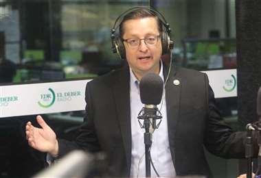 El ministro de Economía, Óscar Ortiz