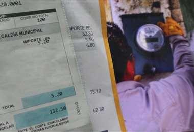 Por la emergencia las factura menores a Bs 120, las pagó el Estado/Foto: Hernan Virgo