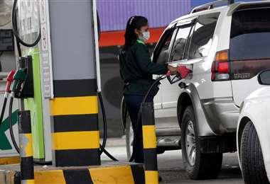 Al menos 12 estaciones carecen de diésel, según Asosur/Foto: Jorge Ibáñez