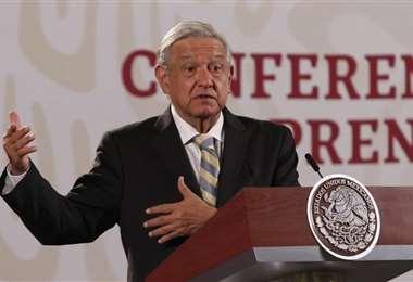 El mandatario mexicano. Foto Internet