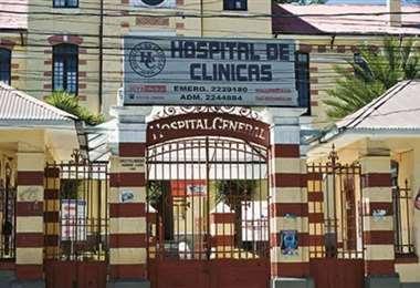 El complejo hospitalario de La Paz está en crisis.