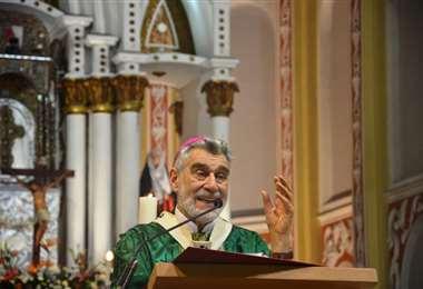 El arzobispo Sergio Gualberti