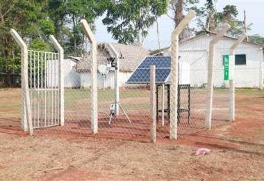 La Gobernación inauguró una estación agrometeorológica