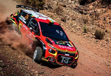 Bulacia protagonizó una gran carrera en el Rally de Turquía. Foto: Prensa Marquito Bulacia