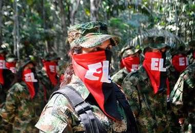 La guerrilla del ELN sigue activa. Foto Internet