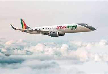 La empresa opera en ocho rutas internacionales