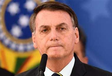 Bolsonaro tomará la palabra en la ONU. Foto AFP