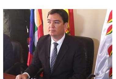 El procurador, José María Cabrera