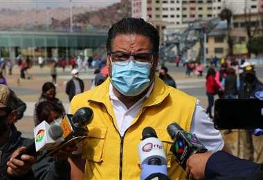 El alcalde de La Paz I AMN.
