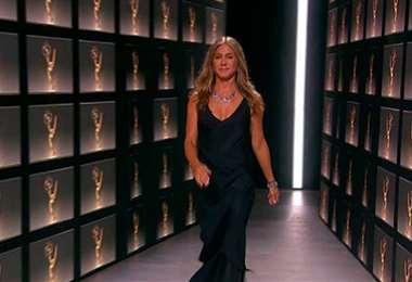Jennifer Aniston fue la encargada de conducir la entrega de los premios Emmy 2020