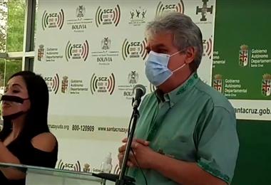 Luis Alpire, vocero del Comité de Crisis