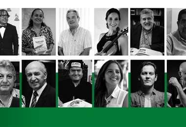 Los participantes de la tertulia organizada por la Orquesta Filarmónica