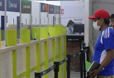 En el SER hay 16 ventanillas bancarias para realizar depósitos