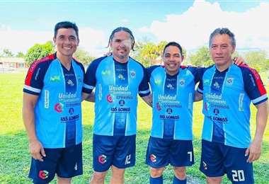 Moreno compartió equipo el sábado con Ruth, Arauz y Mercado. Foto: internet