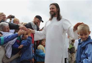 El 'Jesús de Siberia' en una foto de 2009. AFP