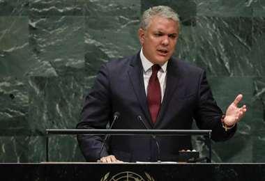 El mandatario colombiano. Foto Internet